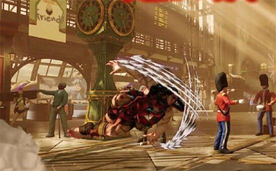 《街头霸王5》公布新角色 古代战士头发可燃烧