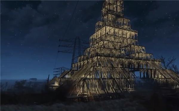 《辐射4》惊现艾弗尔铁塔 别有一番感觉!