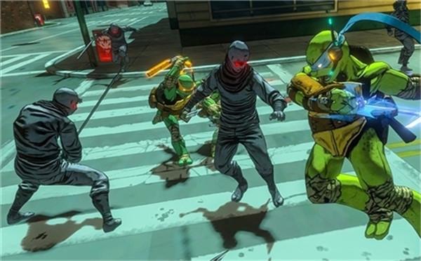 《忍者神龟:曼哈顿突变》全新实机演示 充分展示游戏机制