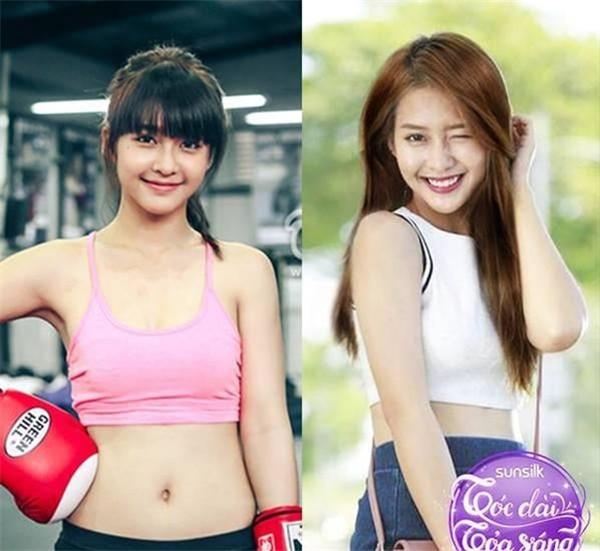 越南拳击美少女性感拳击靓照遭