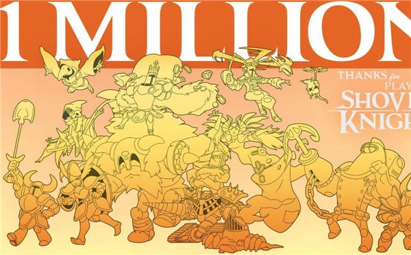 《铲子骑士》受无数奔三玩家追捧 销量已经突破120万份