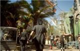 《最终幻想15》泰坦任务试玩视频 BOSS太大了