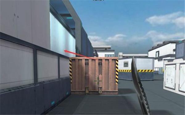 特战英雄实验基地路边箱子怎么跳?