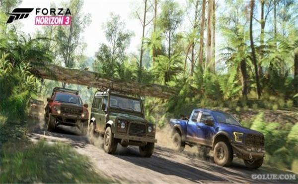 《极限竞速:地平线3》最新宣传片 和好友一起来开车!