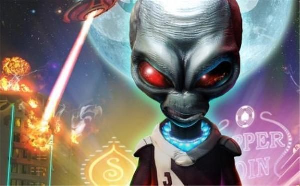 《毁灭全人类2》明天登PS4 驾驶飞碟攻击地球人