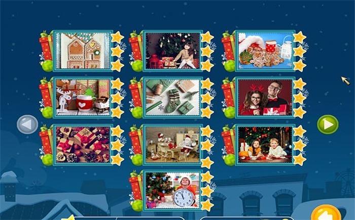 圣诞假期:马赛克拼图下载