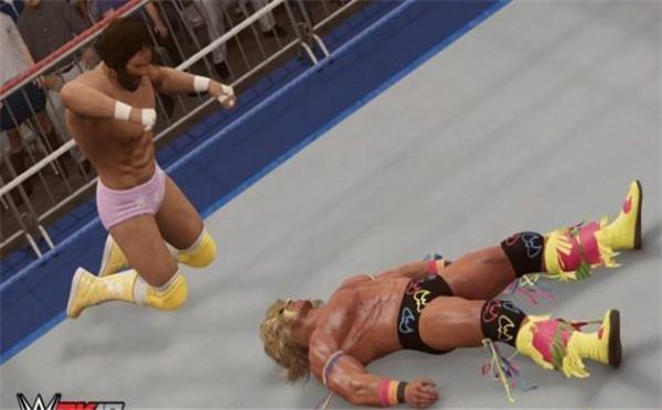 摔跤游戏《WWE 2K17》2月7日推出PC版 截图抢先看