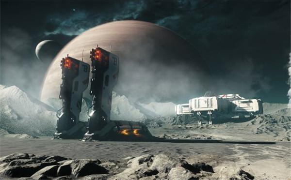 《星际公民》最新截图 展示全新行星和战舰