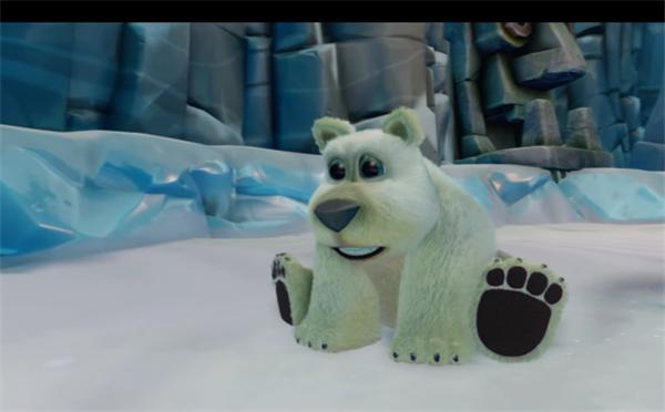 《古惑狼三部曲》新视频展示可爱小北极熊Polar