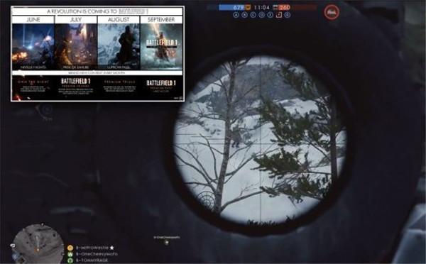 《战地1:以沙皇之名》最新演示 展示Lupkow Pass地图