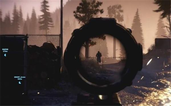《幽灵行动:荒野》幽灵战争模式公布! 4v4生死决战