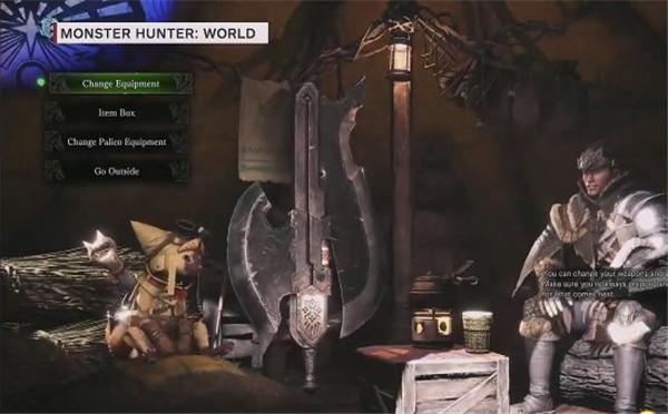 《怪物猎人世界》沙漠试玩演示 钓鱼可选择抛竿位置