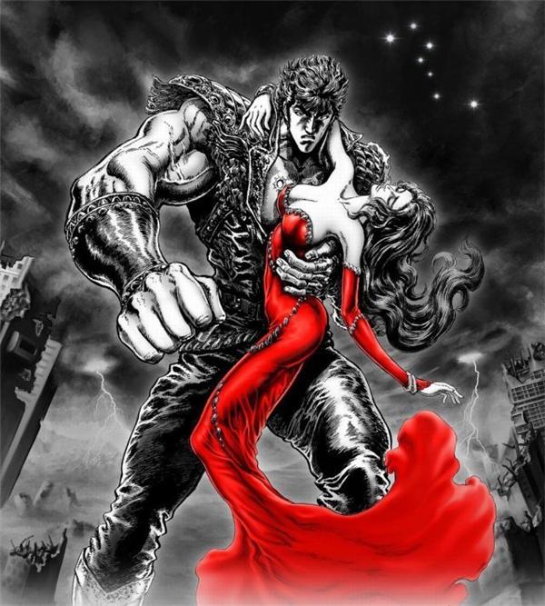 《人中北斗》游戏封面曝光 赤焰红裙妹太撩人
