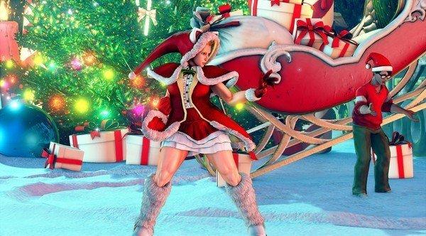 《街霸5》圣诞主题服装曝光 火辣中不乏萌趣