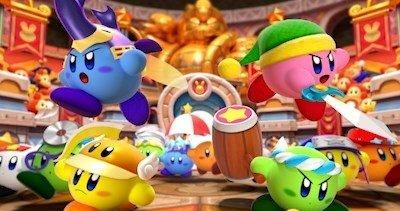 《星之卡比大乱斗》宣传视频公布 1月19日正式登陆北美3DS