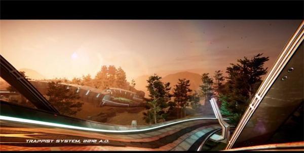 速度无上限! 科幻竞速新游《反重力先锋》将于下月发售