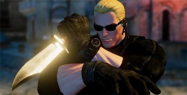 《街头霸王5》新Mod演示 艾达王性感低胸装大战猛男
