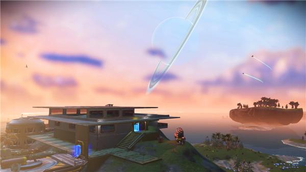 《无人深空》绝美基地建筑图赏 扶摇而上直通天际