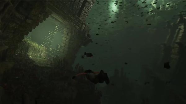 《古墓丽影:暗影》水下求生实机演示 劳拉挑战屏气潜泳
