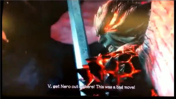 这段视频开始展示了尼禄恶魔手臂被神秘人夺走。后来还展示了独臂状态下尼禄对战强大敌人,但丁魔人化后对名为V的人物交代和尼禄赶快离开,可以看出这个V就是主宣传图中的第三名可操作角色。他们三人共同挑战的则是名为Urizen的魔王。 《鬼泣5》将于2019年3月8日发售,登陆PC、PS4和Xbox One平台。