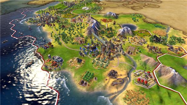 《文明6》Switch版预告片赏 探索新大陆征服你的敌人!